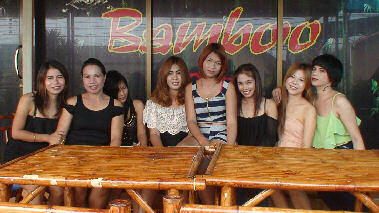 Girls from Bamboo Club Ban Chang