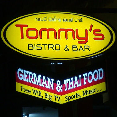 Tommy's Bistro German and Thai Food in Ban Chang
